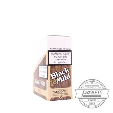 Middleton Black & Mild Wood Tipped (10 packs of 5)