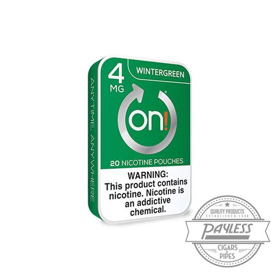 On! Wintergreen 4mg (5 Tin)