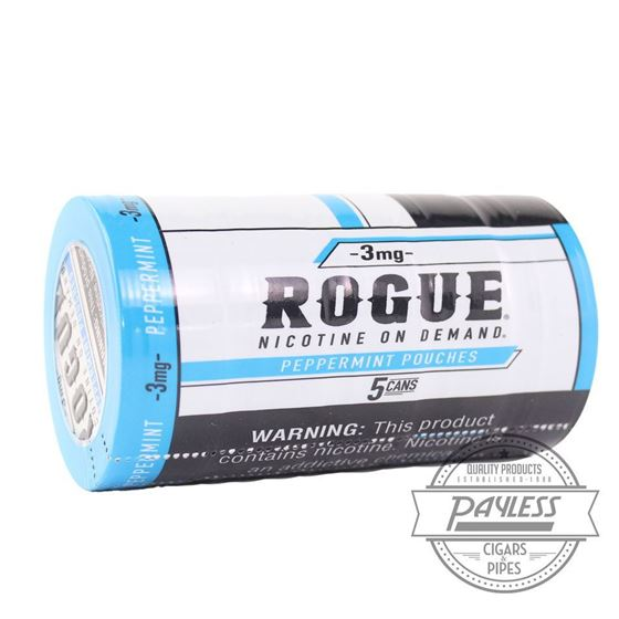 Rogue Peppermint 3mg (5 Cans)