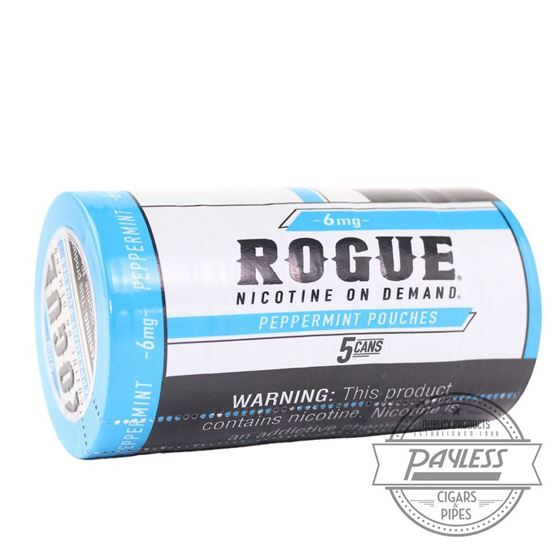 Rogue Peppermint 6mg (5 Cans)