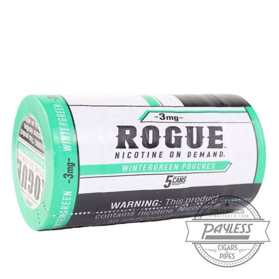 Rogue Wintergreen 3mg (5 Cans)