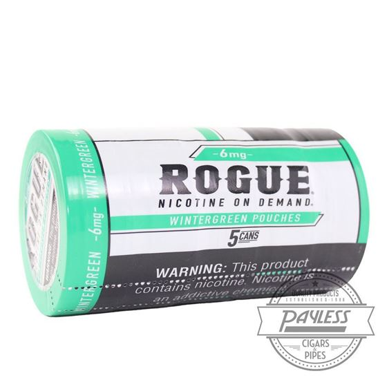 Rogue Wintergreen 6mg (5 Cans)