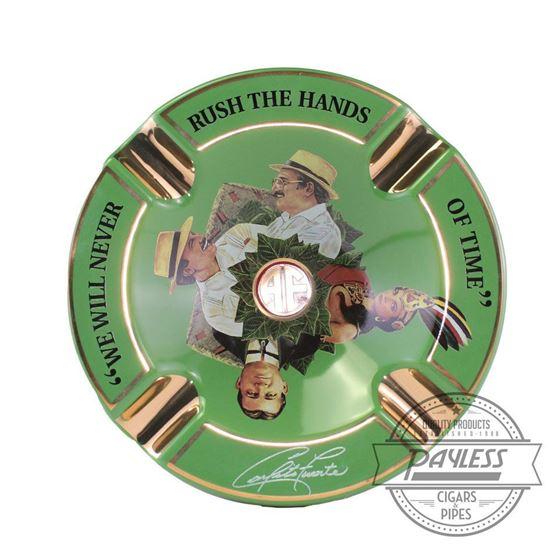 Arturo Fuente Hands of Time Ashtray - Green