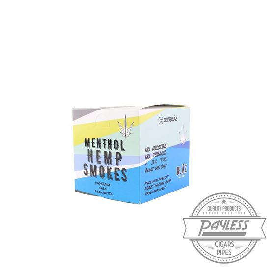 Blaz Menthol Hemp Smokes Carton (10 Packs of 10)