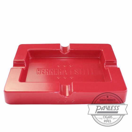 Herrera Esteli Red Ashtray