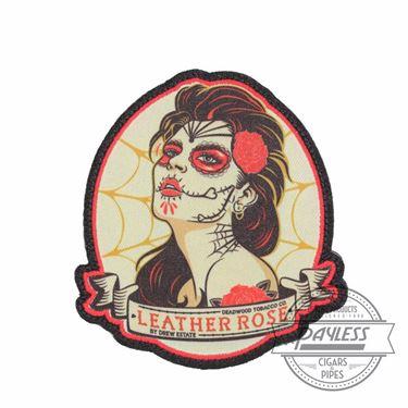 Deadwood Leather Rose Velcro Patch