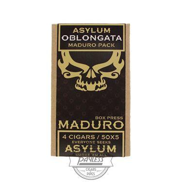 Asylum 13 Oblongata Maduro 5x50 (4-Pack)