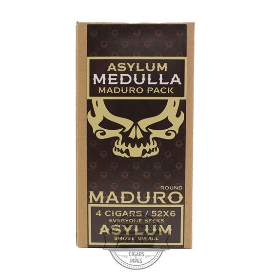 Asylum 13 Medulla Maduro 6x52 (4-Pack)