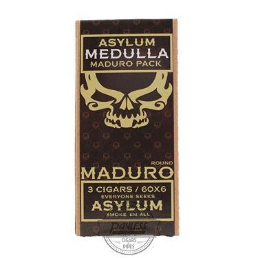 Asylum 13 Medulla Maduro 6x60 (3-Pack)