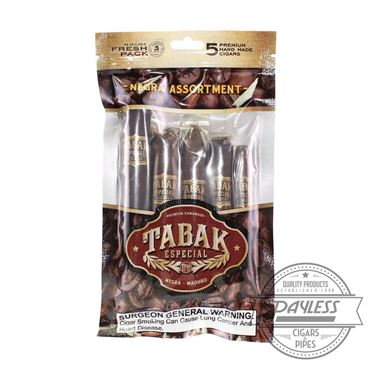 Tabak Especial Negra Assortment Sampler (5-Ct)