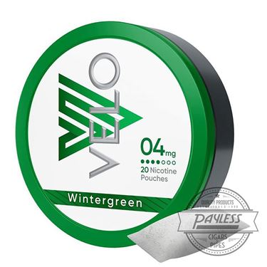 Velo Wintergreen 4mg (5 Tins)