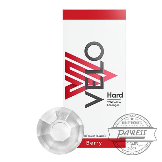 Velo Hard Lozenge Berry 2mg (5 Tins)