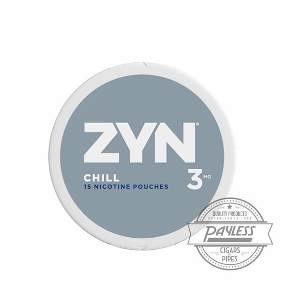 Zyn Chill 3mg (5 Cans)