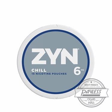 Zyn Chill 6mg (5 Cans)