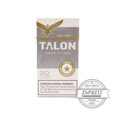 Talon Filtered Cigars Silver (10 packs of 20)