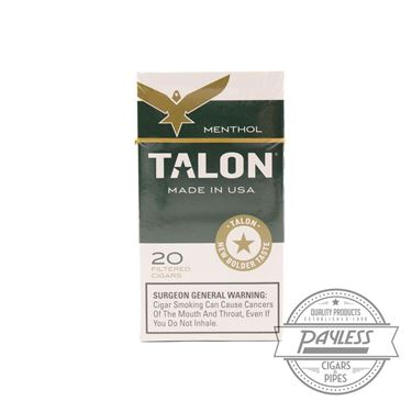 Talon Filtered Cigars Menthol (10 packs of 20)