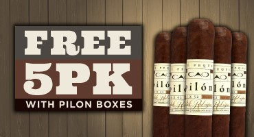 FREE 5-pack of CAO Pilon Cigars