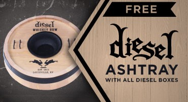 Free Diesel Whiskey Row Ashtray with Purchase of Any Diesel Box